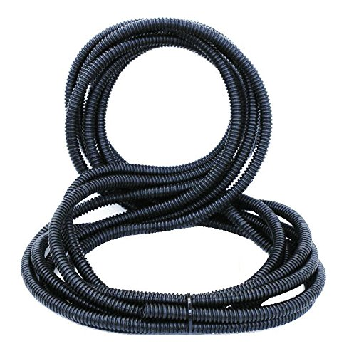 SLT14 DNF 20FT Split Loom Tubing Wire /& Hose Cover Polyethylene Audio Video 1//4 x 20 FT