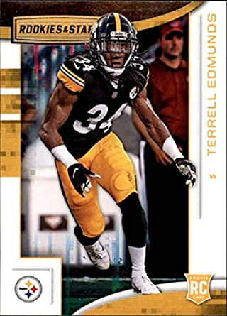 2018 Rookies and Stars Football  152 Terrell Edmunds RC Rookie Card Pittsburgh  Steelers Rookie Official 15c112479