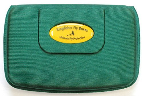 Kingfisher Medium Lightweight Foam Fly Box- Will Float if Dropped