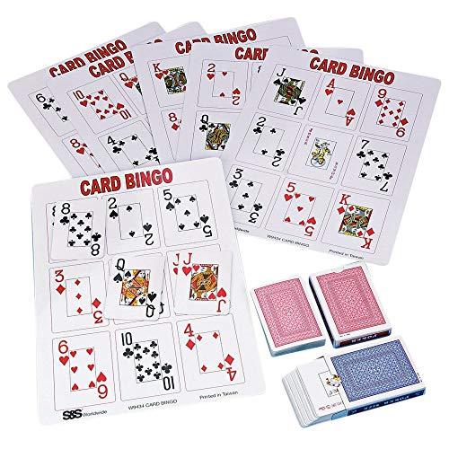 - S&S Worldwide Playing Card Bingo Game