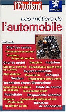 Livre gratuits en ligne Les Métiers de l'automobile pdf ebook