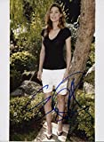 Ellen Pompeo Signed Grey's Anatomy Old School Sexy Color 8x10 Photo W COA PJ2