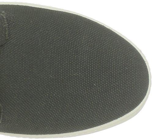 Blackstone HEAVY CANVAS FM40 Herren Sneaker Schwarz (Beluga)