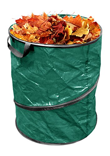 Kole Imports HB888 Pop Up Leaf Trash Can