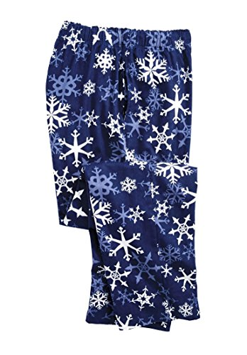 KingSize Holiday Print Flannel Pajama