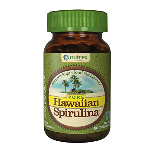 Tabs Natural 500 100% (Pure Hawaiian Spirulina - 500mg tablets 100 count – Boosts Energy and Supports Immunity – Vegan, Non GMO – Natural Superfood Grown in Hawaii)