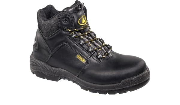 Delta plus Para Hombre ct600 S3 SRC Botas de Seguridad Negro Cuero Corte Alto Metal Libre: Amazon.es: Bricolaje y herramientas