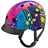 Nutcase - Patterned Street Bike Helmet for Adults, Totally Rad, Medium