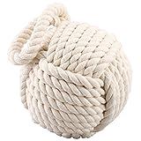 """Heavy Rope Knot Doorstop 7"""" Diameter"""