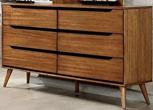 Furniture of America CM7386A-D Lennart Oak Dresser