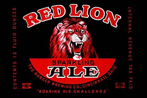Buyenlarge Red Lion Ale - Gallery Wrapped 44