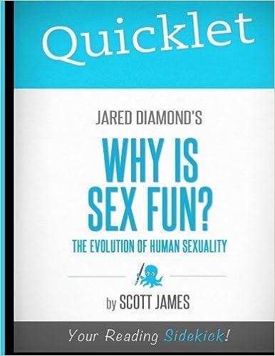 Why is sex fun jared diamond