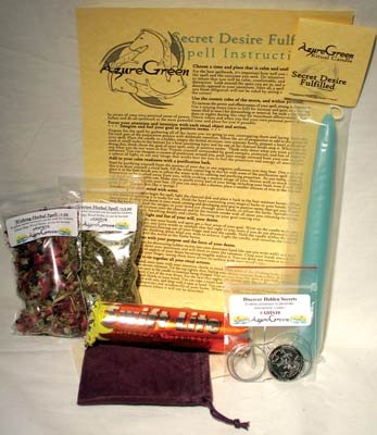 Ready To Cast Secret Desire Fulfilled Ritual Spell Kit Includes Instructions and Tools