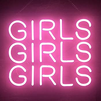 gritcol pink girls neon sign light gifts love beer bar man cave bed room 14 x10. Black Bedroom Furniture Sets. Home Design Ideas