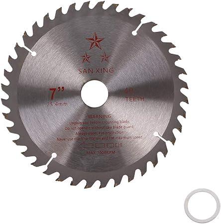 8/'/' 40T Teeth Carbide Tip Blade For Brush Cutter Trimmer Bore Diameter 25.4mm