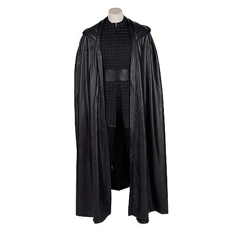 Kylo Ren Cosplay Star Wars 9 The Rise of Skywalker Costume Cloak Cape Gloves