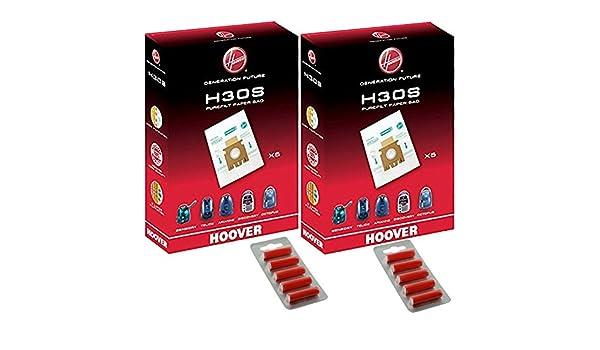 Hoover H30S sensorial auténtica PUREFILT bolsas para ...