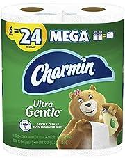 Charmin Ultra Gentle Toilet Paper, 18 Mega Rolls = 72 Regular Rolls (Packaging May Vary)