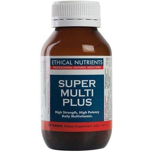 スーパーマルチプラス(マルチビタミン&ミネラル + エゾウコギ + ミルクシスル)【海外直送品】 (60錠) B01M6U5OOI   60錠