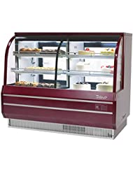 Turbo Air TCGB-60-CO Curved Glass Bakery Display Case