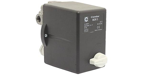 Elmag CONDOR MDR - Presostato (3 EA/11 bar, 400 V, 10 - 16 A: Amazon.es: Bricolaje y herramientas