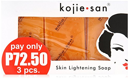 Kojie San Orange Whitening Soap, 3 x 65 g
