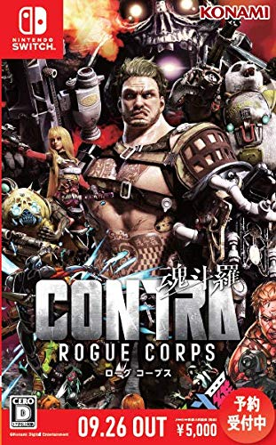 CONTRA ROGUE CORPS (魂斗羅 ローグ コープス)の商品画像