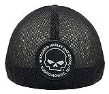 Harley-Davidson Willie G Skull Black Baseball Cap