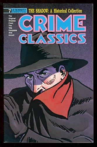 CRIME CLASSICS #7 SHADOW NEWSPAPER COMIC REPRINTS VF/NM