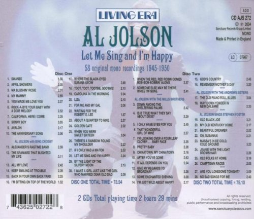 Let Me Sing & I'm Happy by Universal UK