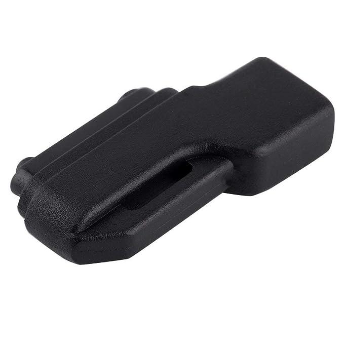 PGIGE Micro USB para Cargador de Carga magnético Adaptador de Muelle para Sony Xperia Z1 / Z2 / Z3 Peso Ligero portátil Conveniente Llevar - Negro