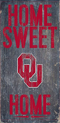 Fan Creations Oklahoma Sooners Wood Sign - Home Sweet Home 6