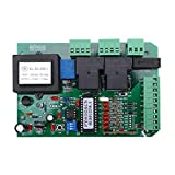 GATEXPERT Main Replacemet Control Board for Sliding Gate and Door Openers Security Electronic Main 110V/60Hz Circuit Board Universal