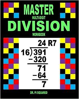 Master Multi-Digit Division Workbook