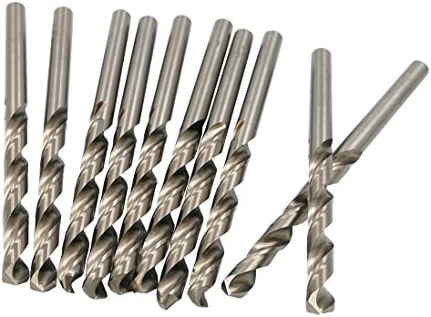 TWISTDRILL HSS Bohrer 4,0mm DIN 338 HQ Typ N, geschliffen, High Quality, 10 Stück