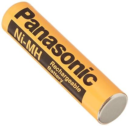 Amazon.com: 2 unidades, Panasonic NiMH baterías AAA ...