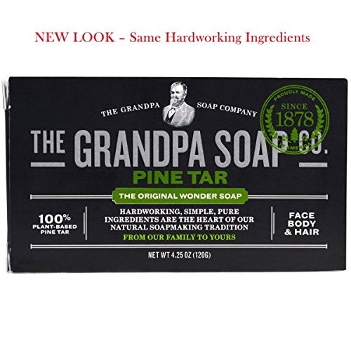 Grandpa's Soap Pine Tar 4.25 oz ( 8-Pack)