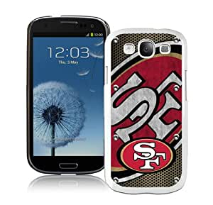 Hot Sale Samsung Galaxy S3 I9300 Case ,San Francisco 49ers 04 White Samsung Galaxy S3 Cover Unique And Popular Designed Phone Case