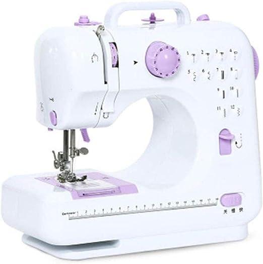 Máquina de coser portátil, máquina de overlock de coser eléctrica ...