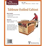 Fine Woodworking's Tablesaw Outfeed Cabinet Plan