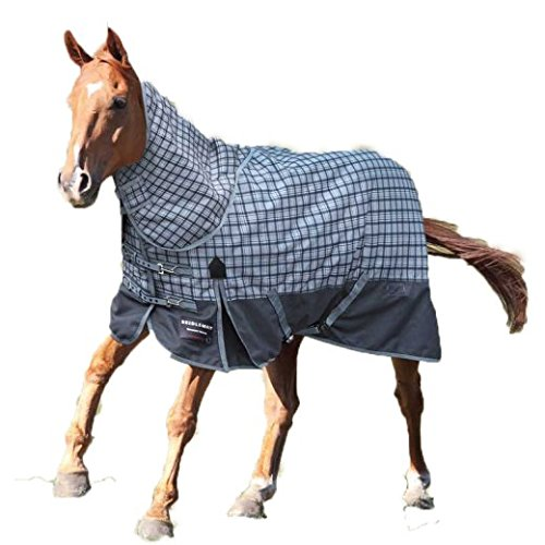 72 inches 6 ft Bridleway Vancouver Winter Turnout Rug with Neck Set (72 inches 6 ft)