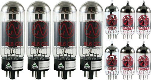 Fender Twin Reverb / Showman Tube Set, JJ Tubes (x4 6L6GC, x4 12AX7, x2 12AT7) by JJ Electronic