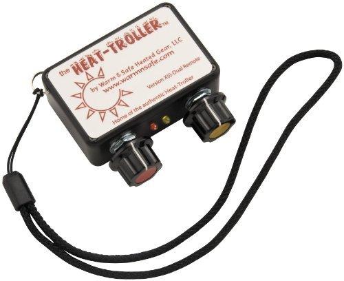 Firstgear Remote Dual Heat Troller Control - Black