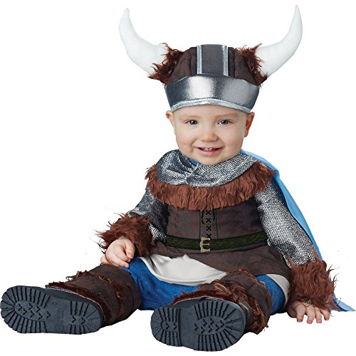 [California Costumes Baby Boys' Lil' Viking Infant, Brown/Silver, 18 to 24 Months] (King Toddler Costume)