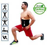 Slender 8 Waist Trimmer Slimmer Belt - LARGE EDITION - For Men and Women - Lower Back Support - Improve Fitness - Boost Workout Benefits - Target Abdominal - Weight Loss - Lifetime Warranty