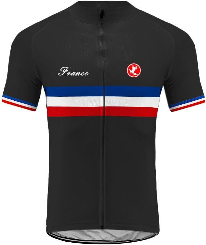 Uglyfrog Cuissards Cyclisme Bib Short Endurance /Ét/é Rembourr/é Pantalons de Cycliste Respirant S/échage Rapide Homme DKMZ02