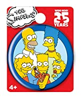 Simpsons The Family Single Button Pin Action Figure