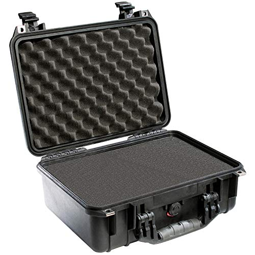 Pelican 1450 Case With Foam (Black) - Bag Way Three Pro Tank