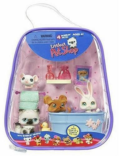 Littlest Pet Shop Bathtime Playset with 4 Pets by Littlest Pet Shop (Image #3)