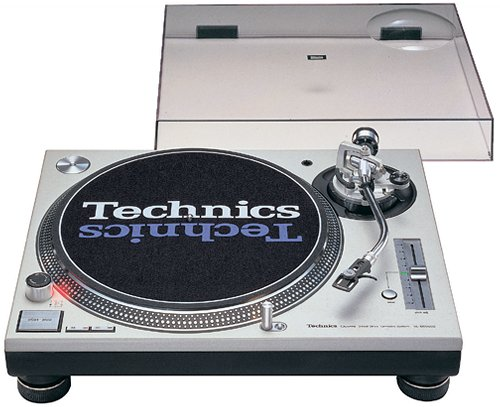 Technics SL1200M3D Turntable (Discontinued by Manufacturer) (Dust Technics 1200 Cover)